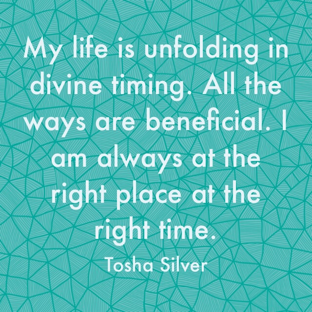 Think about the words you use to describe your life's progression. How do they feel?  Remind yourself often your life is unfolding in the ways and timing that are for your highest good. Now breathe a sigh of relief and carry on!   #unfolding #divinetiming #beneficial #toshasilver https://t.co/xsV4JxOXft