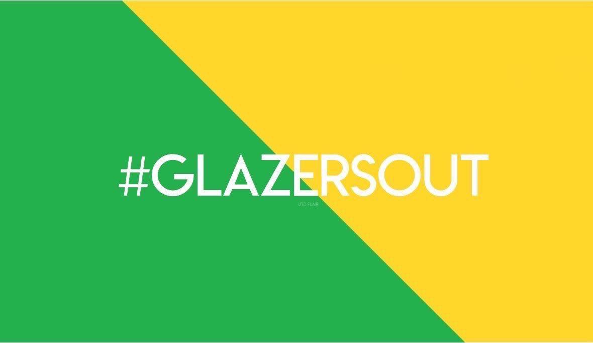 #GlazersOut #WoodwardOut https://t.co/GxRnznAmJI