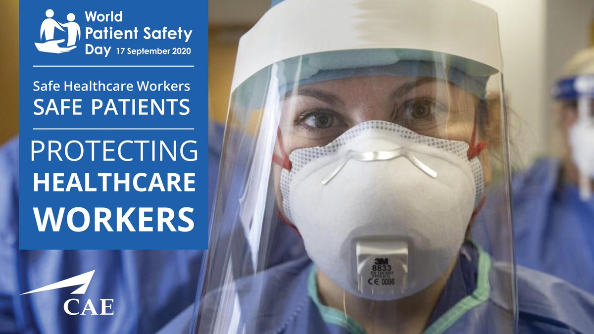 How can we speak up for Healthcare Worker Safety? The World Health Organization recommends four things higher education could be doing to protect healthcare workers. Read our latest blog to find out more: https://t.co/76gzXMwmfQ  #WorldPatientSafetyDay #CAE https://t.co/9mmQksTYBo