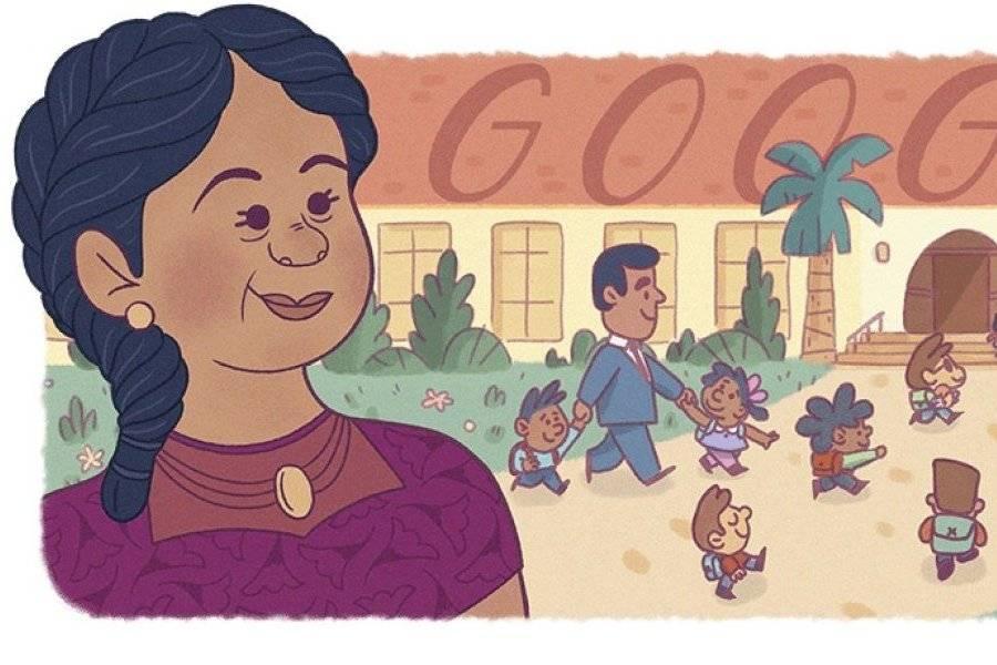 El Doodle del buscador de Google rinde hoy homenaje a la activista puertoriqueña Felicitas Méndez. Una comprometida luchadora contra la segregación escolar.   Homenaje bien merecido https://t.co/DWzxzhkQ1G