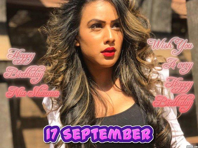 Happy Birthday: Nia Sharma