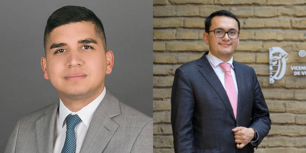 Colombia's Ministry of Housing and Cities, led by Minister Jonathan Malagon MPA-EPM '11 @JoMalagon and Deputy Minister Carlos Ruiz MPA-EPM '18 @carlosruizma, was named to the @UNHABITAT Scroll of Honor recognizing leadership in urban policy. ¡Felicidades! https://t.co/dKshIWk0z9 https://t.co/MrvBoJXrZl