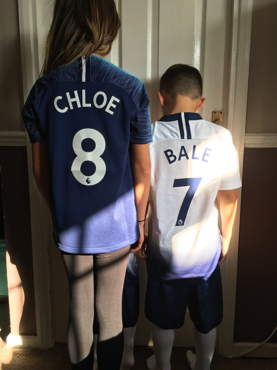 I just hope we sign Bale so I don't have to provide ID everytime my boy wants his name on his Shirt!