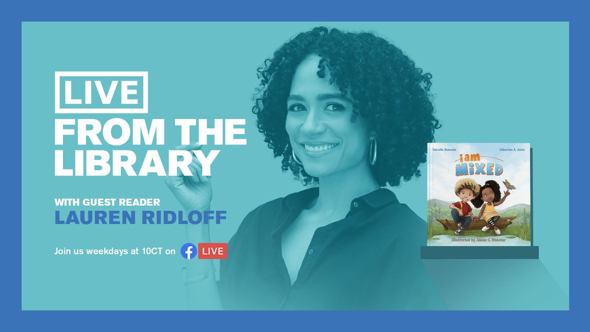 Hyde Park native, @TheTonyAwards nom, and @TheWalkingDead actress @LaurenRidloff joins #LiveFromTheLibrary this Friday in celebration of #DeafAwarenessMonth. Lauren signs I Am Mixed by Garcelle Beauvais & Sebastian A. Jones with a voiceover at 10 AM at https://t.co/l9w9rofEsP! https://t.co/YBD2gpzikI