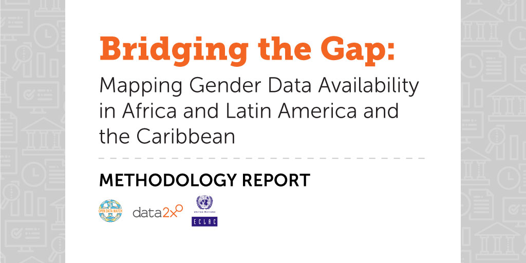 A coordinated effort is needed to improve #genderdata collection and adopt common standards for the compilation of indicators in Latin America and the Caribbean. Our recent report highlights #genderdata gaps across 6 development domains. #UNGA75 https://t.co/gUrgEEvT1i https://t.co/8Lt0F1g7L8