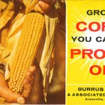 Image for the Tweet beginning: A #BurrusSeed ad from 1962