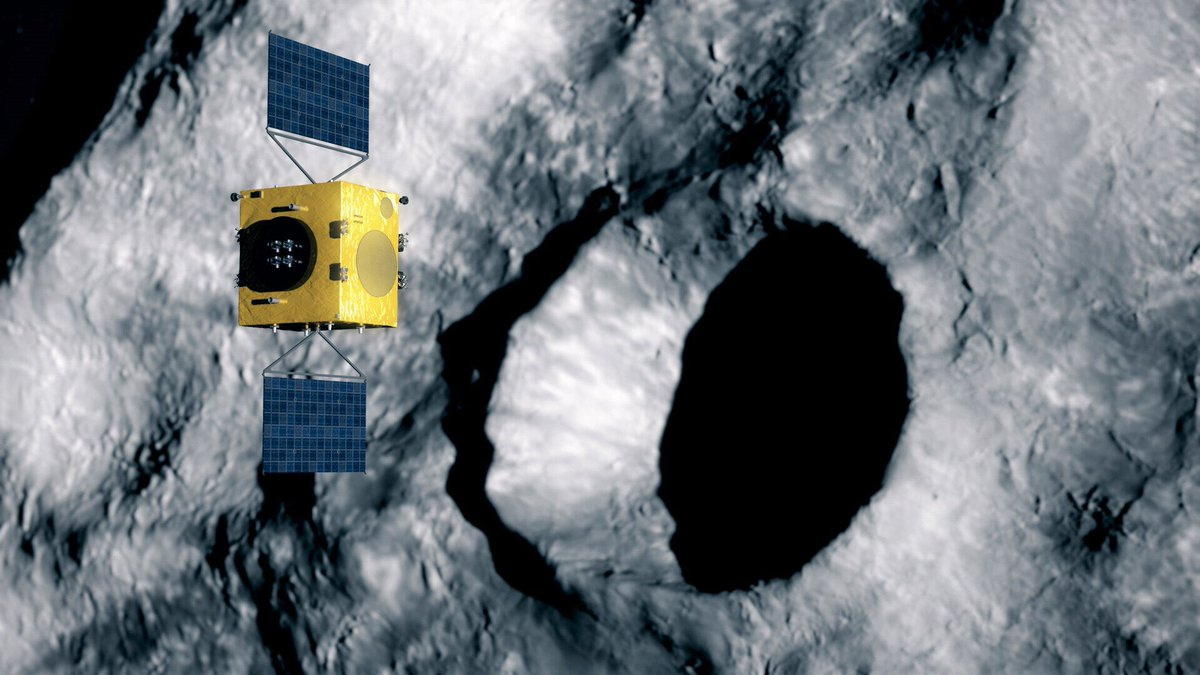 Romania & Portugal are collaborating on ESA #HeraMission for planetary defence & 🇪🇺 contribution to asteroid deflection. 🇷🇴&🇵🇹 are developing the laser altimeter which will provide crucial information for the autonomous navigation functions ➡️https://t.co/eJcBLdJs80 @MAERomania https://t.co/ApG95rg19a