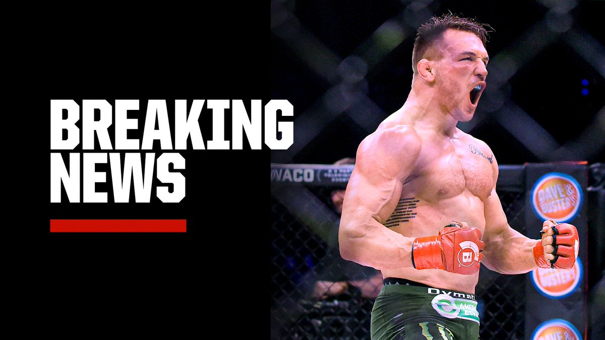 Michael Chandler has officially signed with UFC, Dana White announced on @SportsCenter.   Chandler will serve as a backup fighter for the #UFC254 main event between Khabib Nurmagomedov and Justin Gaethje. https://t.co/7zs1dRwMK1