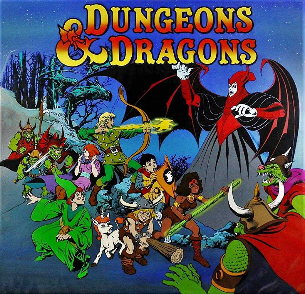 """""""Dungeons & Dragons"""" debuted on tv today in 1983. The animated series based on the Dungeons & Dragons role-playing game ran for three seasons and aired a total of 27 episodes. #80s #80stv https://t.co/PZp7jUcuxz"""
