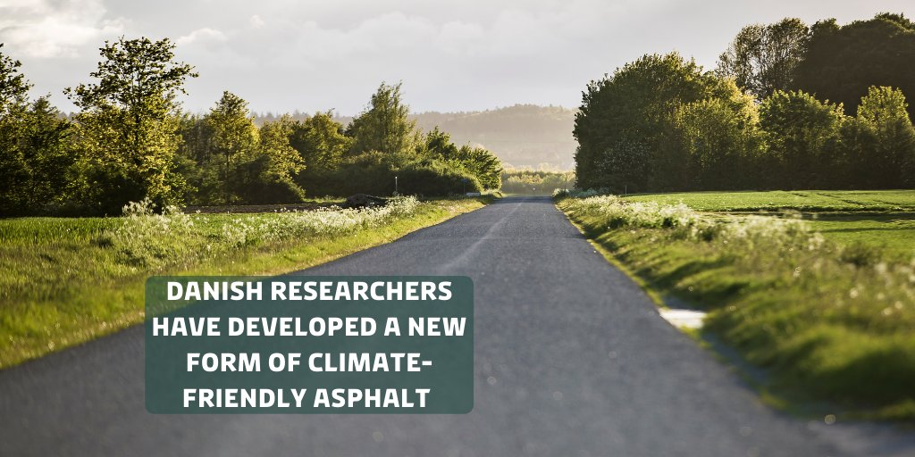 Clear the way for climate-friendly asphalt! Danish researchers have developed a new form of climate-friendly asphalt that reduces rolling resistance and thereby reducing C02 emissions 🚗🌱   Read more: https://t.co/i6eZiPLNWX.  #SusDANEability #DenmarkinUSA https://t.co/qb0ea1AOFp