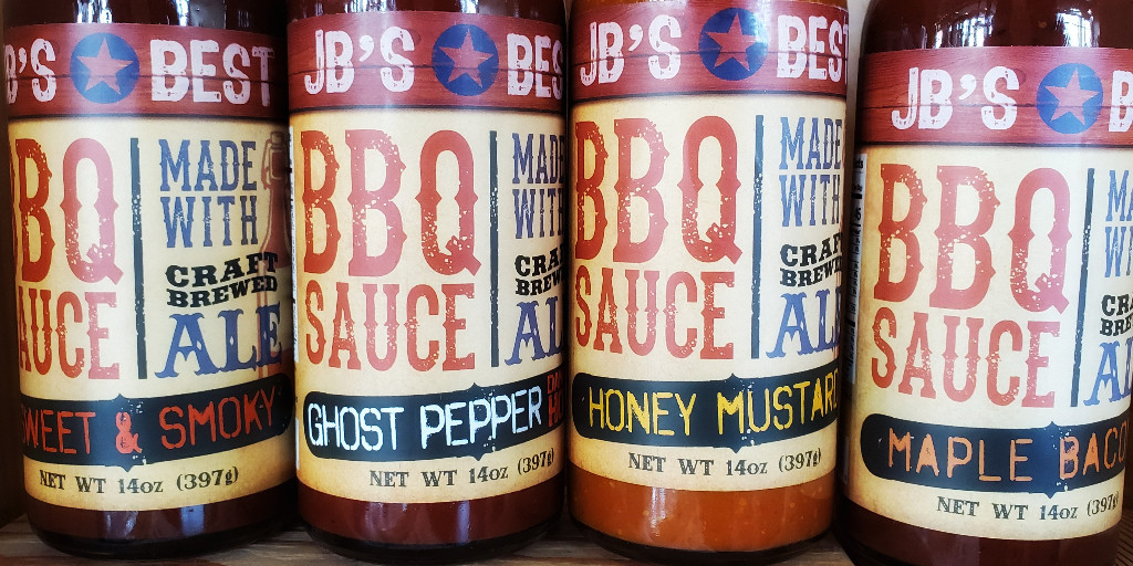 Grilling season isn't over so make sure to have JB's Best BBQ Sauce on hand! Ghost Pepper, Sweet & Smokey, Honey Mustard or Maple Bacon.  You won't be disappointed in any of them! #sandsukyoh #bbqseason #jbsbestbbqsauce #perkinstownship #eriecountyoh #sandusky #grillingseason https://t.co/XVgItDplur