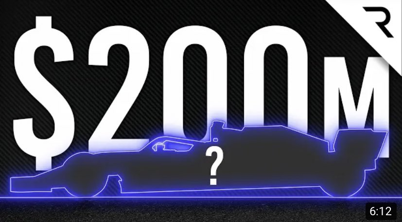 Why any new F1 team has to pay $200million to the current grid to enter https://t.co/KliipxyRT0 via @YouTube #F1 https://t.co/pqqgXy8jCj