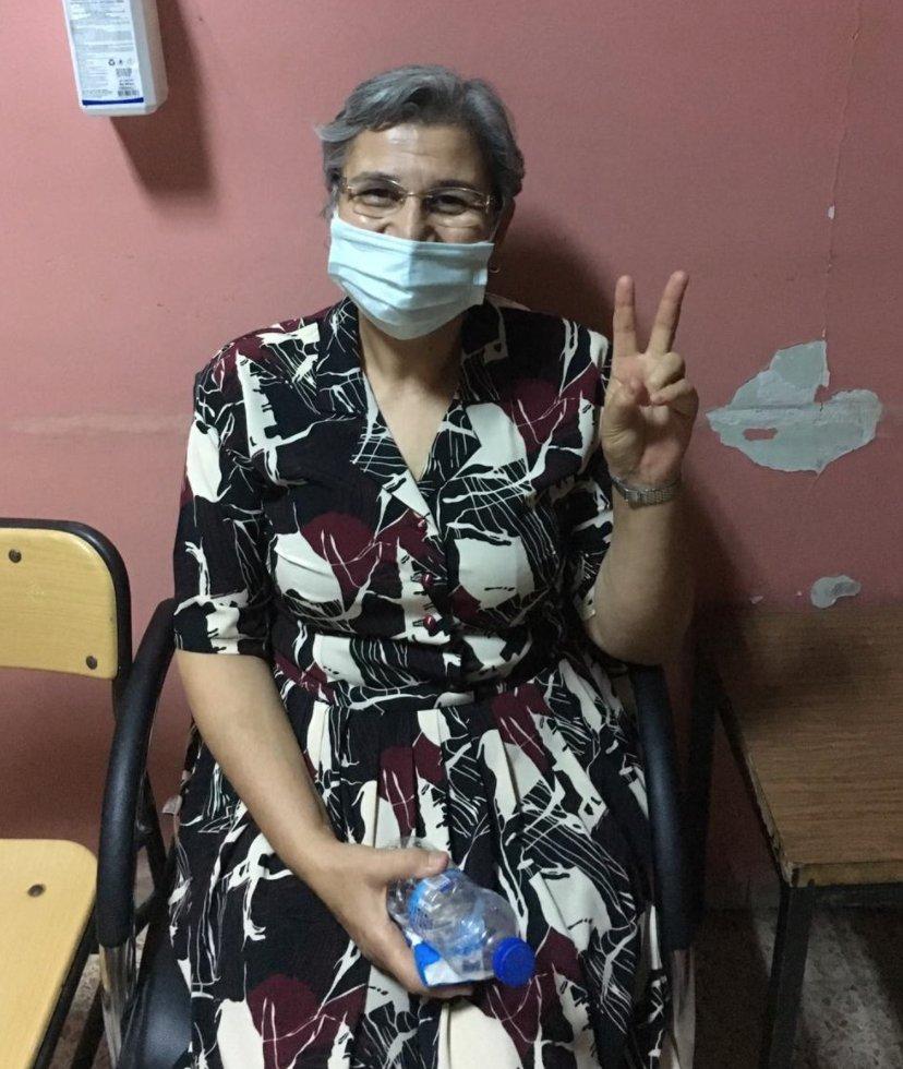 Latest from court. Leyla Güven has been released. #TwitterKurds