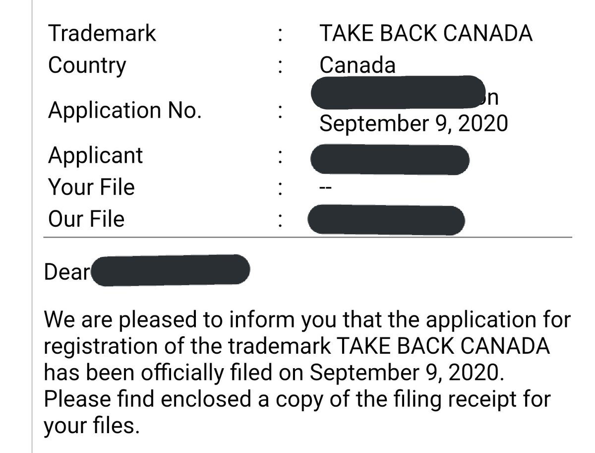 """Erin O'Toole is using """"take back canada"""" as his white nationalist slogan despite the fact that Indigenous climate activists have been calling for Land Back for decades -- so we just filed a trademark for the phrase based on past use and served the CPC with a cease and desist 😇 https://t.co/qSfycLywEy"""