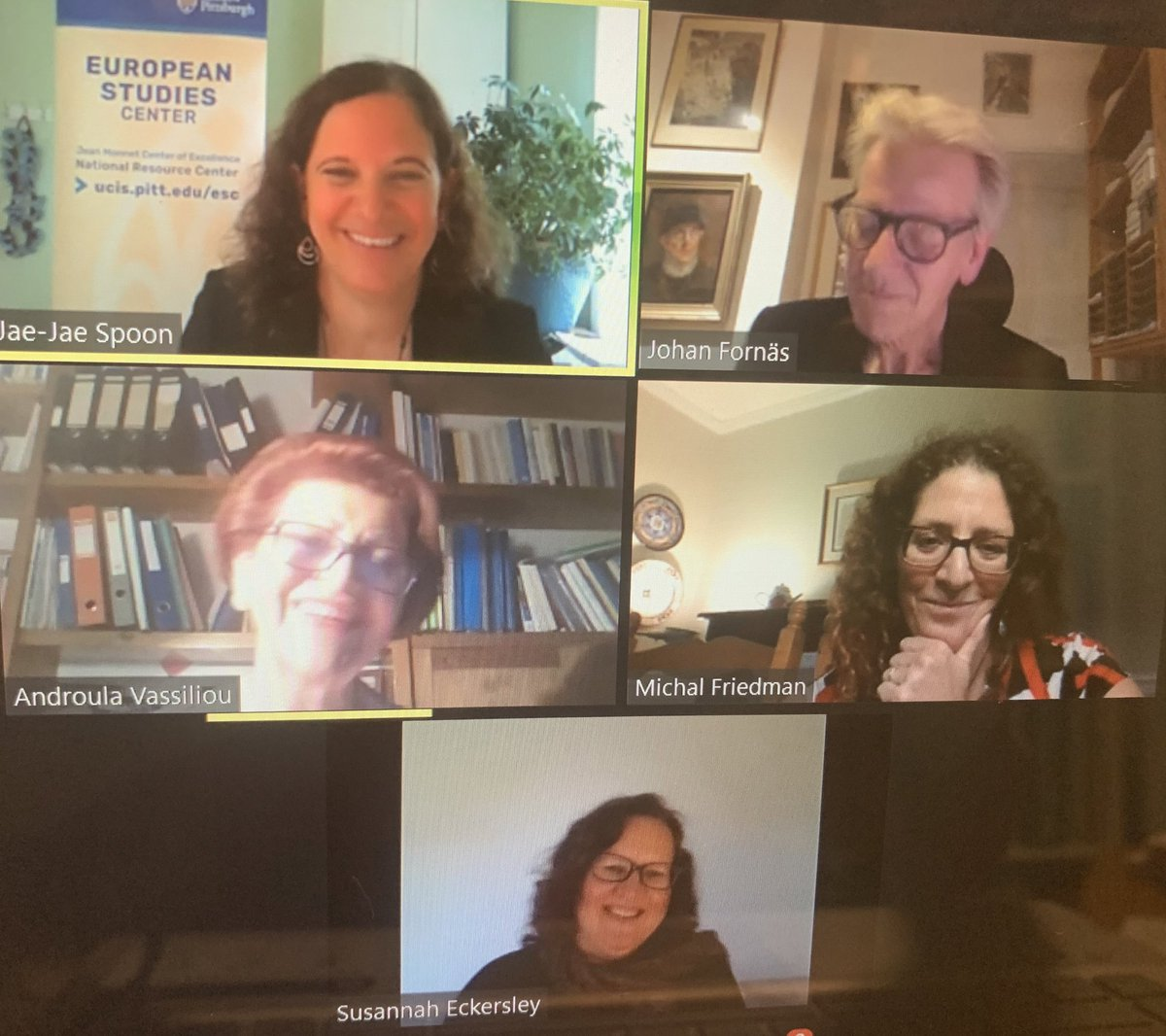 """@EuceEsc @VassiliouEU @johanfornas @MuseumsEck @MichalFriedman7 @JaeJaeSpoon @sacsncl @MuseumEck The 1st #PittCoE  on """"United in Diversity"""" was excellent. Thanks & appreciation to @EuceEsc  , distinguished 🇪🇺 experts @VassiliouEU @EU_Commission @johanfornas @MuseumEck @MichalFriedman7 & moderator. @JaeJaeSpoon . @MEUCEFIU  is looking forward to the next @EuceEsc #PittCoE https://t.co/i6ATfEL4Ku"""