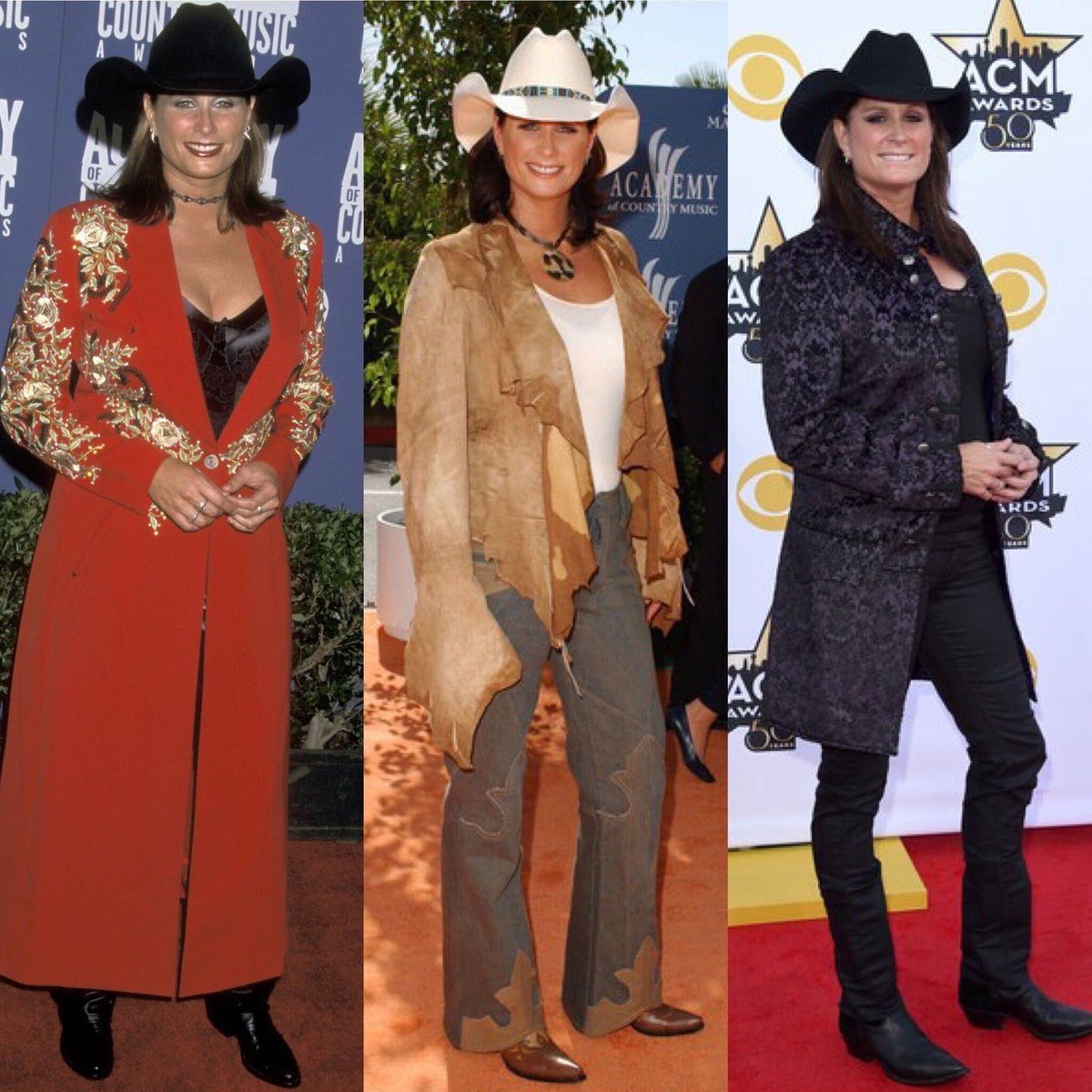 Congratulations to the @ACMawards for a great show last night! Had me thinking about memories from past #ACMawards. Which red carpet look was your favorite? #TBT https://t.co/a86FAiVZ7O