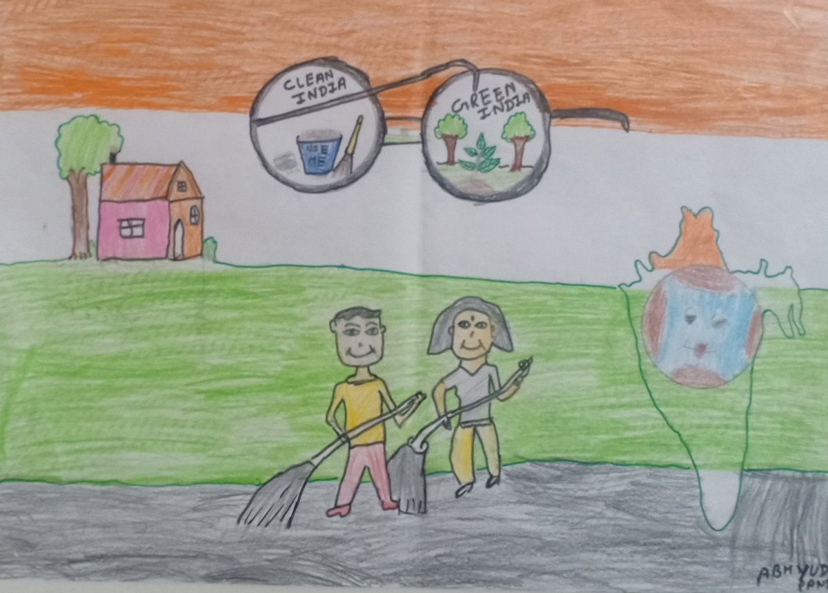 @narendramodi  Happy Birthday Sir & God bless you always  My son made it to support  #SwachhBharatMission  #SwachhBharatAbhiyan https://t.co/EzInyLVfSb