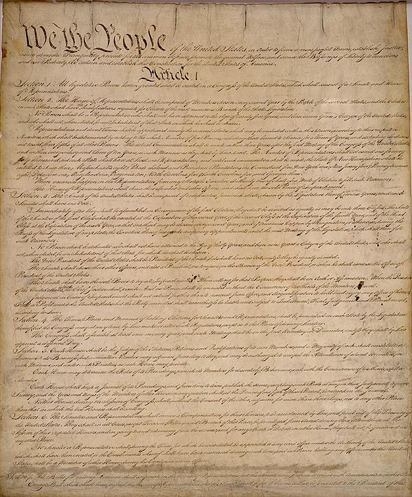 233 years ago We the People signed the #Constitution in order to form a more perfect union.  It is our north star.  #ConstitutionDay https://t.co/a8lGgkMWWN