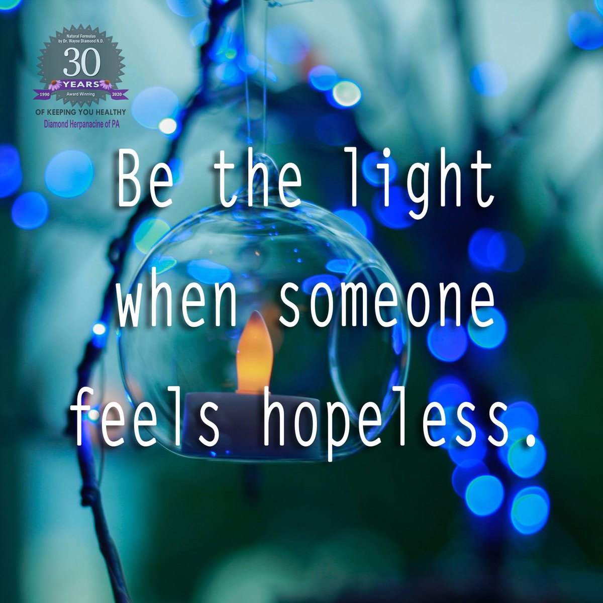 Be the light when someone feels hopeless. #inspire https://t.co/VBWZ2dd82L