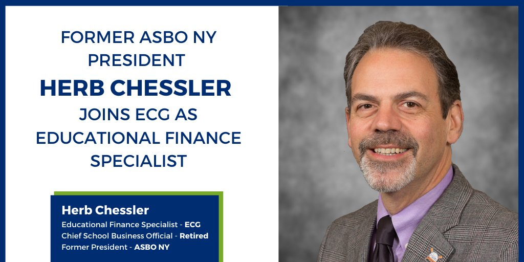 Proud to welcome Former ASBO NY President, Herb Chessler, to our team! He will be your financial advocate during your #EPC with @theECGgroup