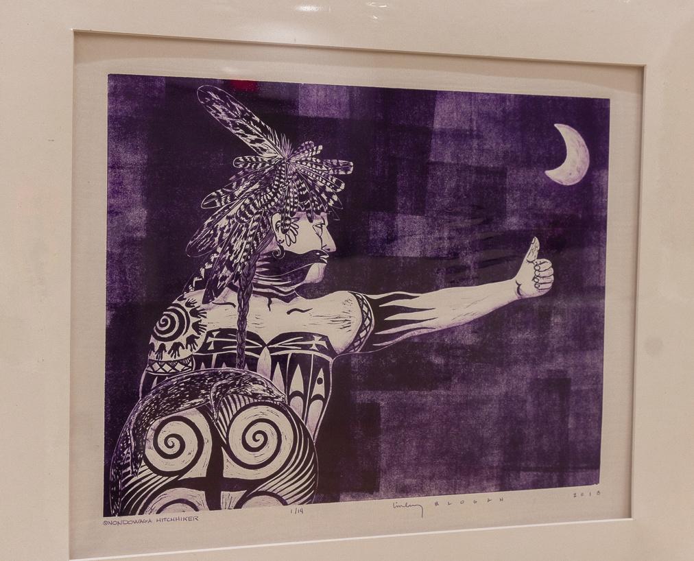"Hodinöhsö:ni' Art Show Countdown: 8 days til application deadline of Sept. 25. https://t.co/RFUHH8NNZc  2day's motivation:  2019 1st place winner in Fine Art 2D: ""Onondowaga Hitchhiker"" by #LinleyLogan (Onondowaga, Ayenyogwai:yo')  #Haudenosaunee #Artshow #juriedartshow #6nations https://t.co/FqFYKpuLPU"