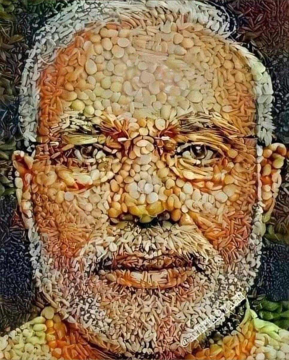Just the perfect picture to be shared today!! (Zoom in) #JaiKisan #AtmaNirbharKrishi