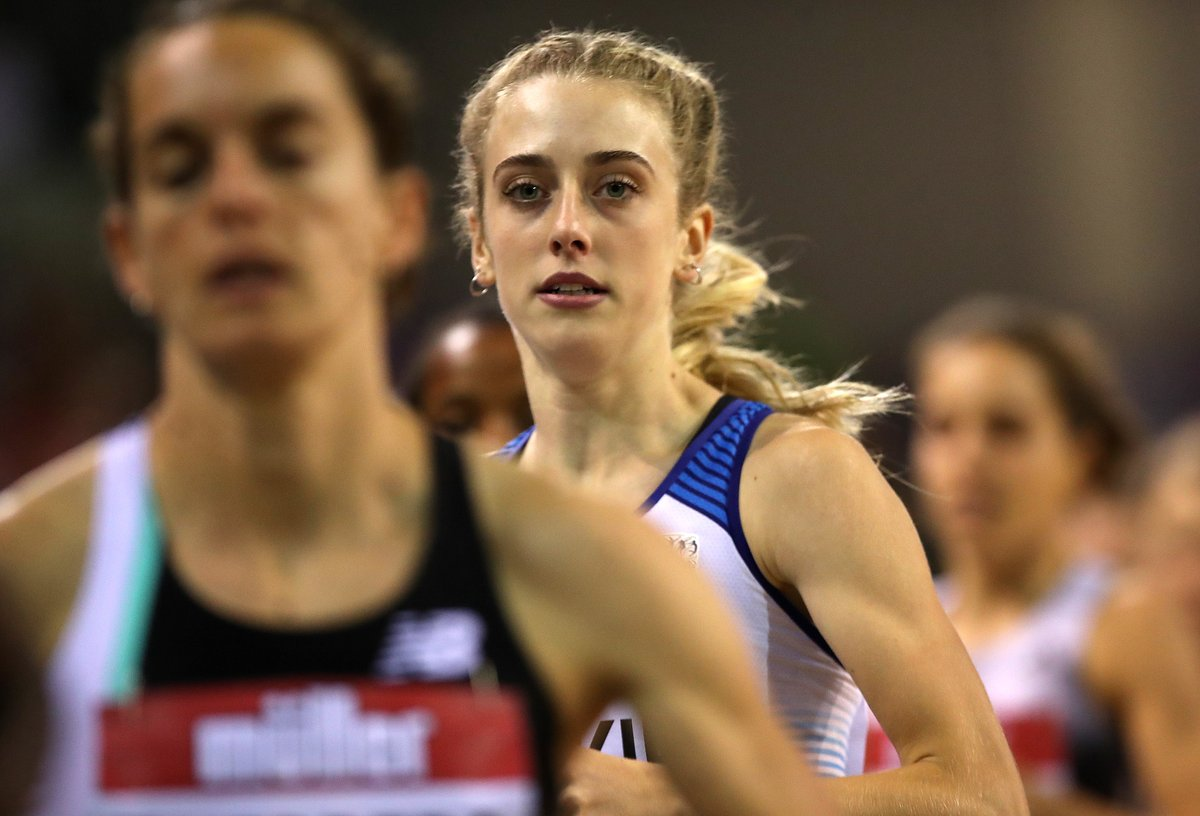 🇬🇧 @JemmaReekie had never gone sub-two minutes for 800m before this year. In 2020, she's done it SEVEN times 👏  Reekie wins #RomeDL with 1:59.76, training partner @lauramuiruns finishing third in 2:00.49 🥇🥉 https://t.co/K9rABHAVBS