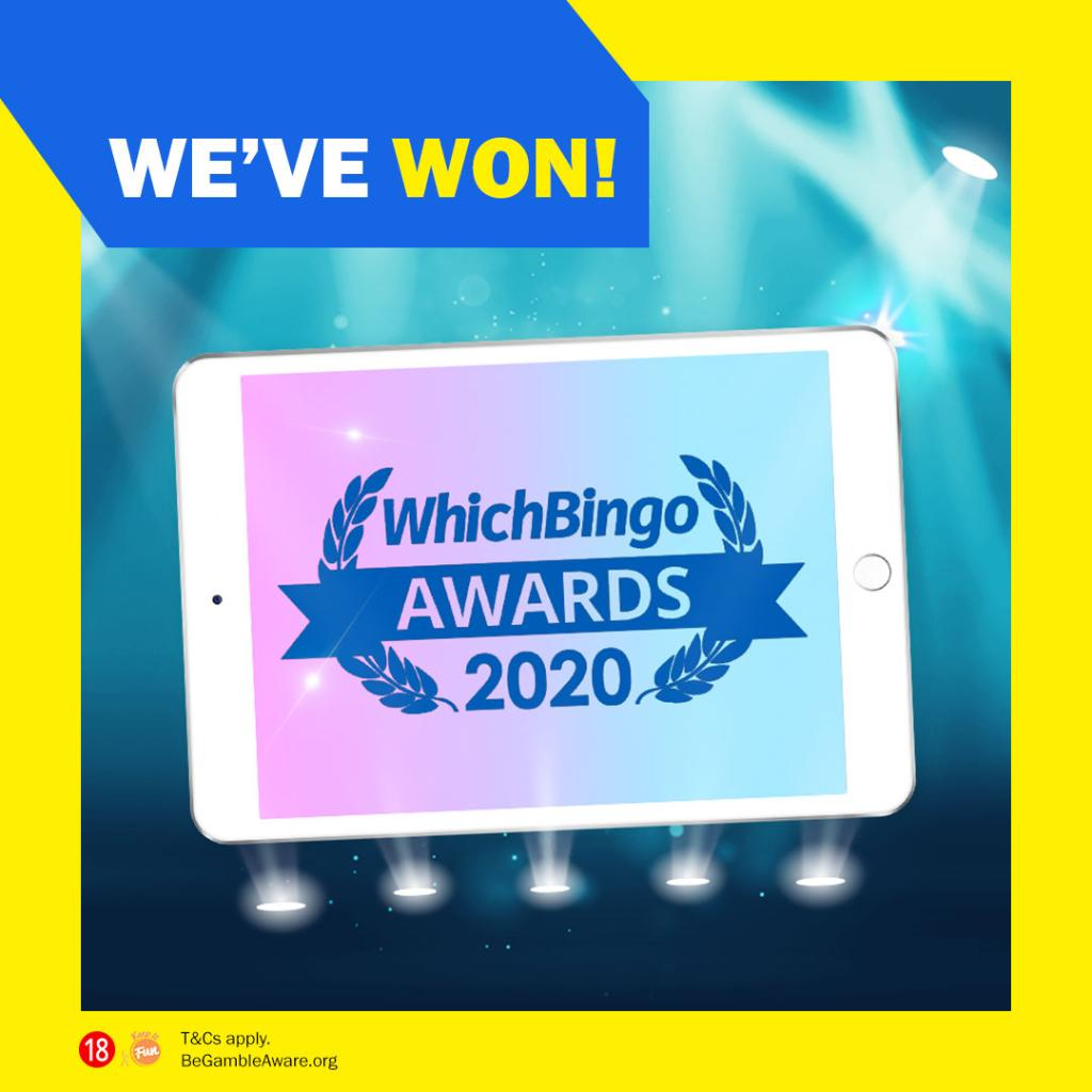 🎉We've Won! We came out on top in two WhichBingo Awards & we couldn't have done it without you; thank you!  So as promised here's some FREE bingo- this Saturday & Sunday 6pm- 8pm, £1k extra free games in Lucky for Some. 🙌 Check it out 👉 https://t.co/xN7QdJj6tj  T&C's apply. https://t.co/GjPPUu0hww