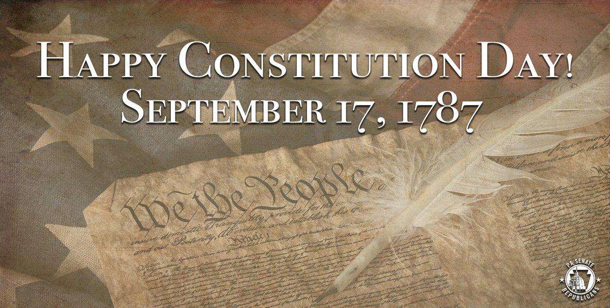 Happy #ConstitutionDay!
