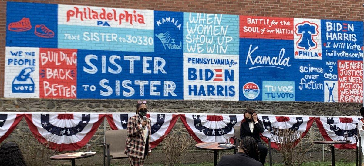 Philly is ready to VOTE!! #BidenHarris2020