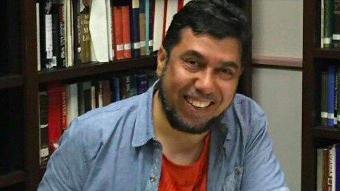 الدكتور #خالد_العودة معتقل لأجل تغريدة منذ 3 سنوات #٣سنوات_على_حملة_سبتمبر