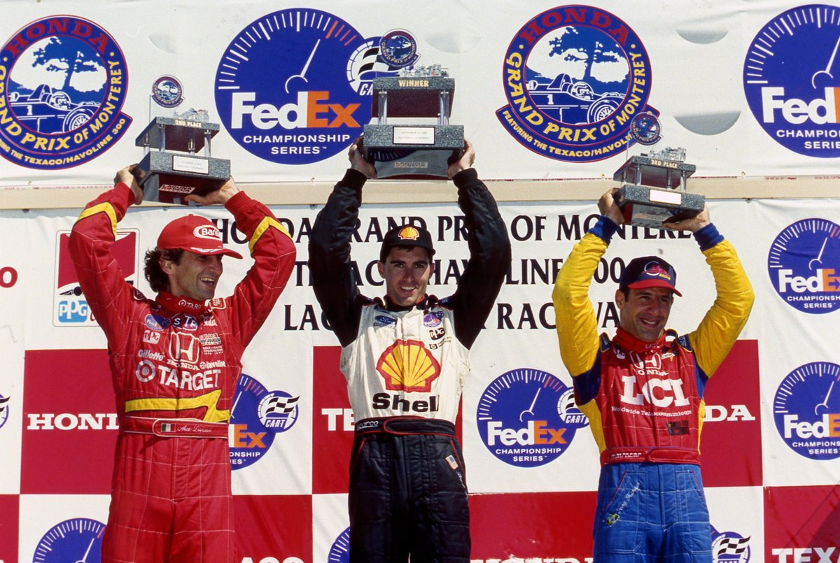 """Today's Classic Rewind takes us back to 1998 at @WeatherTechRcwy where @BryanHerta earned his first career win.   """"I remember by biggest feeling after the race was relief. I'd been close so many times..."""" - Bryan Herta  Watch Full Race: https://t.co/Tpphrnfu3a https://t.co/g0Y2vQfyRg"""