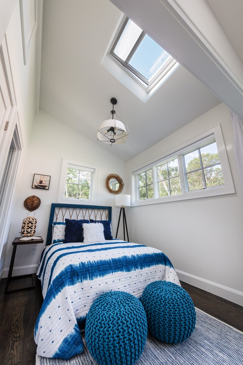#VELUX #Skylights add instant dimension to the bedroom in this year's @ThisOldHouse Idea House. #TOHideahouseCape Learn more at: https://t.co/Ov3sYrZVVS https://t.co/cN8fNKi8Rt