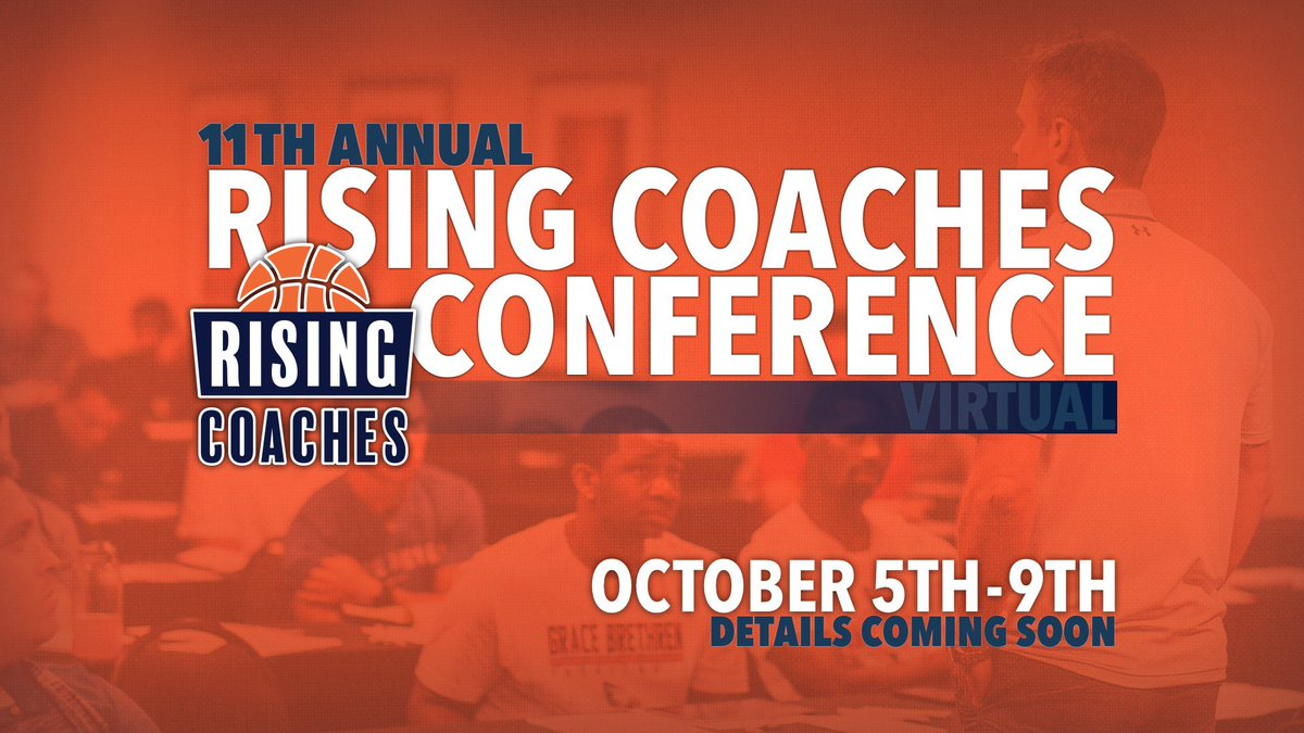 🚨 SAVE THE DATE 🚨  Rising Coaches is happy to announce the dates for the 11th Annual Rising Coaches Conference!  🗓 October 5-9, 2020 📍 https://t.co/7lEf0vLnQl 📝 Details Coming  To learn more about Rising Coaches visit 👩💻 https://t.co/7lEf0vLnQl. https://t.co/Wtgw529RUD