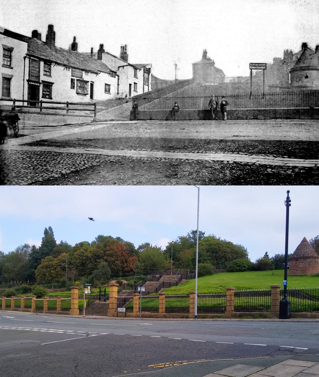 Liverpool Then And Now On Twitter Netherfield Road South Everton 1884 And 2020 With The 1787 Lock Up Featured On Everton S Badge On The Right Https T Co Wxta4v8hah And The Toffee Shop Which I Think