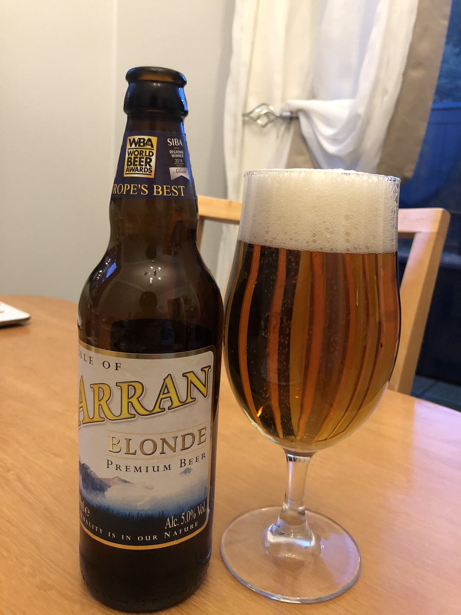 Congratulations on the gold guys @ArranBrewery well deserved with this beer