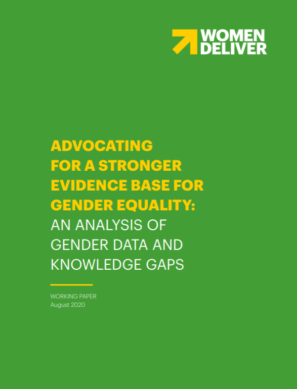 Thanks, @WomenDeliver, for sharing our work in your new report! Learn more about the role #genderdata plays in #genderequality efforts: https://t.co/aVsaXs9UME https://t.co/s2MKAi8WUz
