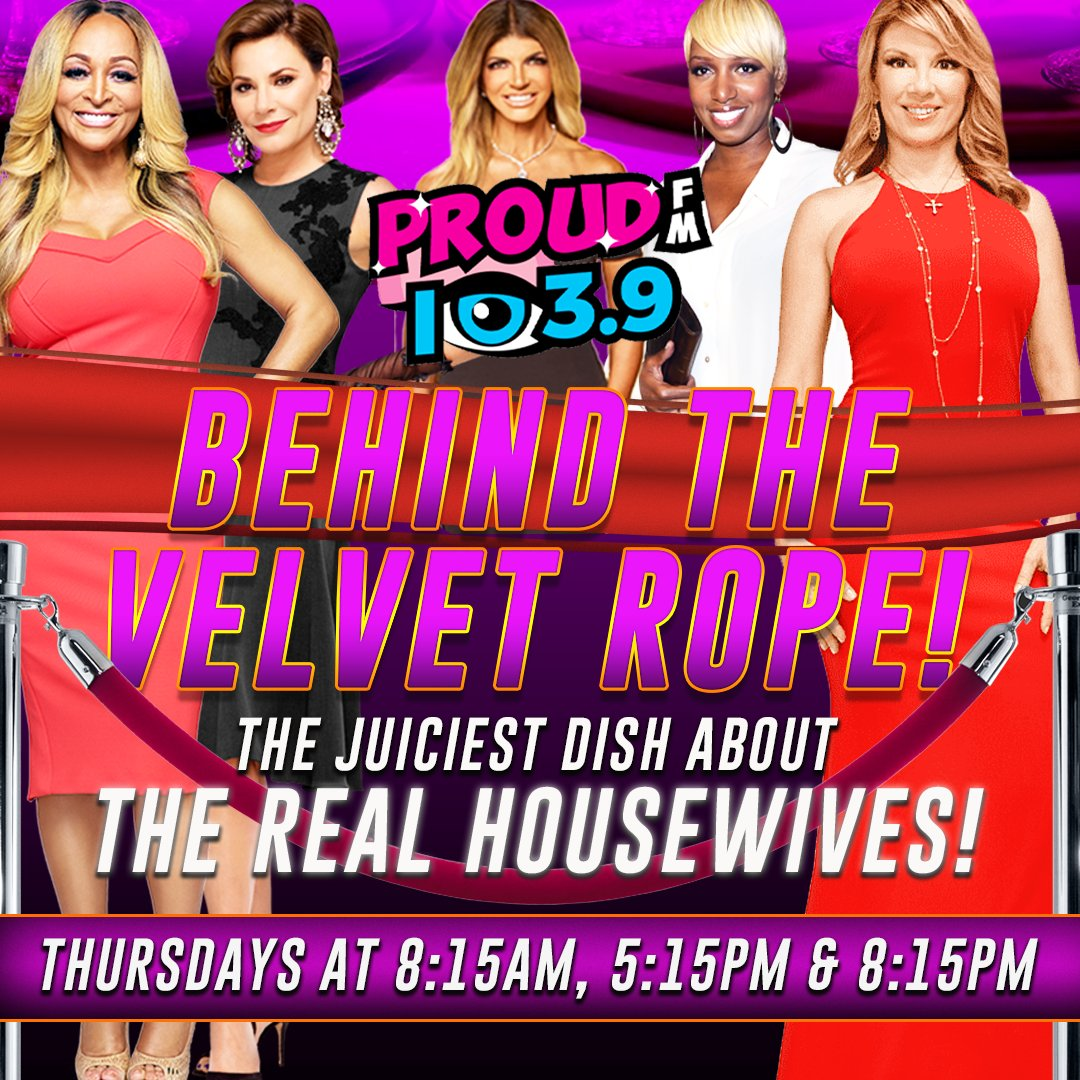 The latest Housewives dish coming up with Jaret & David Yontef!  We talk about RHONY, Is Leah going to come back next season?  And how about that RHOBH reunion last night?  Behind The Velvet Rope powered by CRAIG'S COOKIES, Yum order online at https://t.co/O9oBKFj5jp https://t.co/2YpQgMIhLb