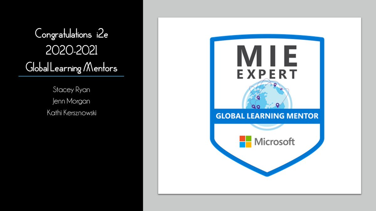 Congrats to this year's @i2eEDU #GlobalLearningMentor group! #MicrosoftEdu #MIEExpert @SkypeClassroom