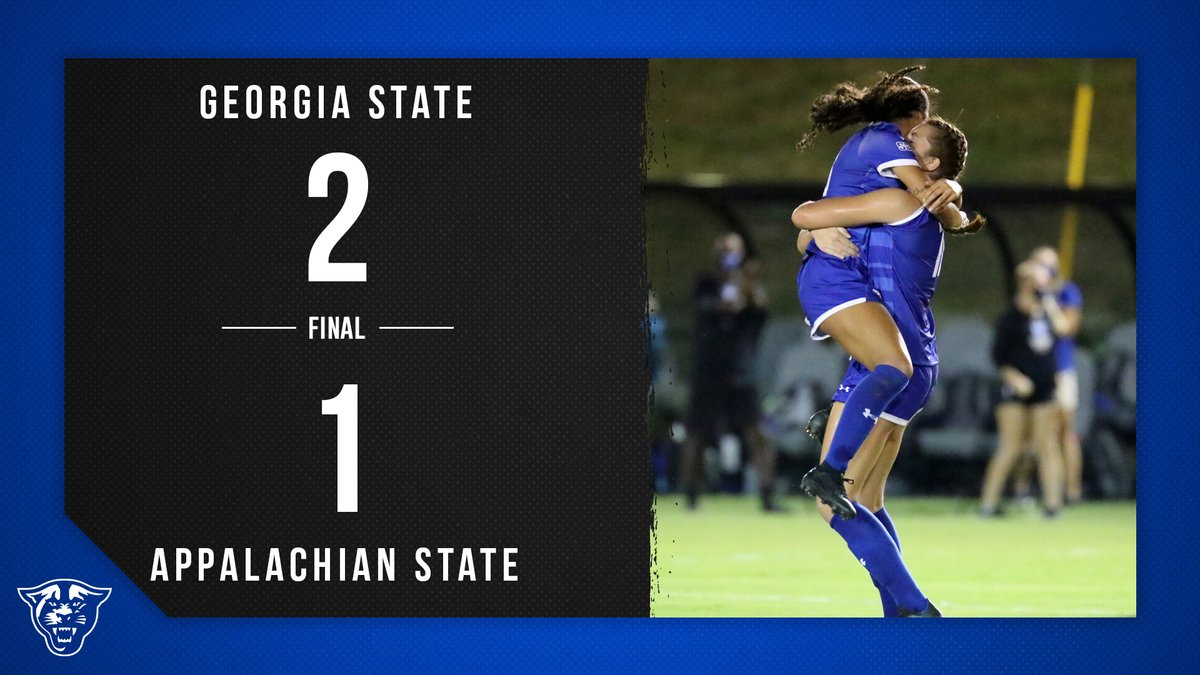 Gsu Women S Soccer On Twitter Final 2 Ot Gsu 2 App State 1 Lizfogy Knocks Home The Game Winner In 2ot As The Panthers Open Sun Belt Play With A Win And Move To