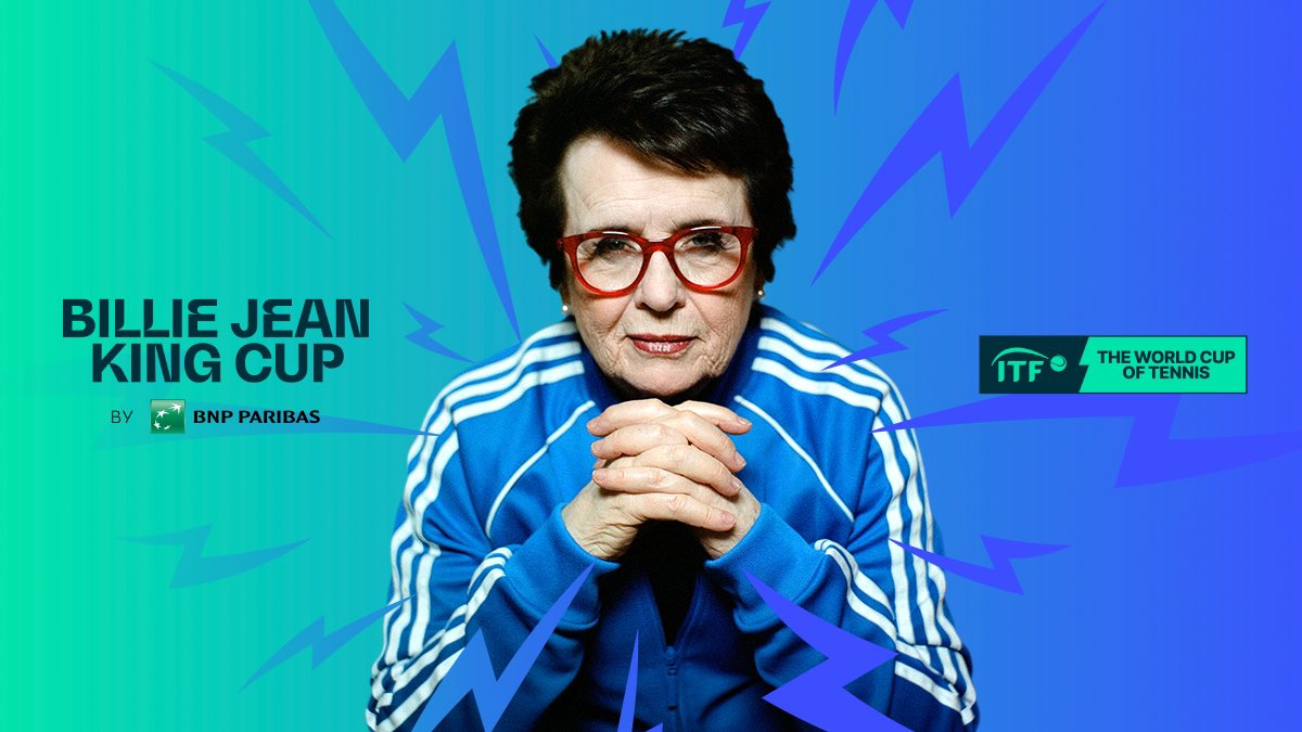 Be bold.  Be brave.  Be courageous.  Be daring.  Be a leader.   https://t.co/BIDrBnEu0I  #BillieJeanKingCup https://t.co/CuoS4afpXt
