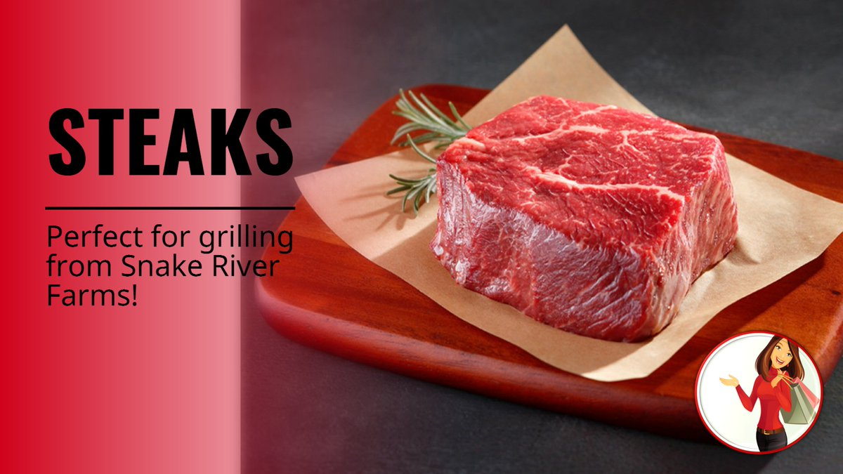 Need some AMAZING steaks to grill? Ck our Snake River Farms! #steak #grillingseason #beef #sponsored https://t.co/8Q7CkkChsp https://t.co/5MW1T0WkzL