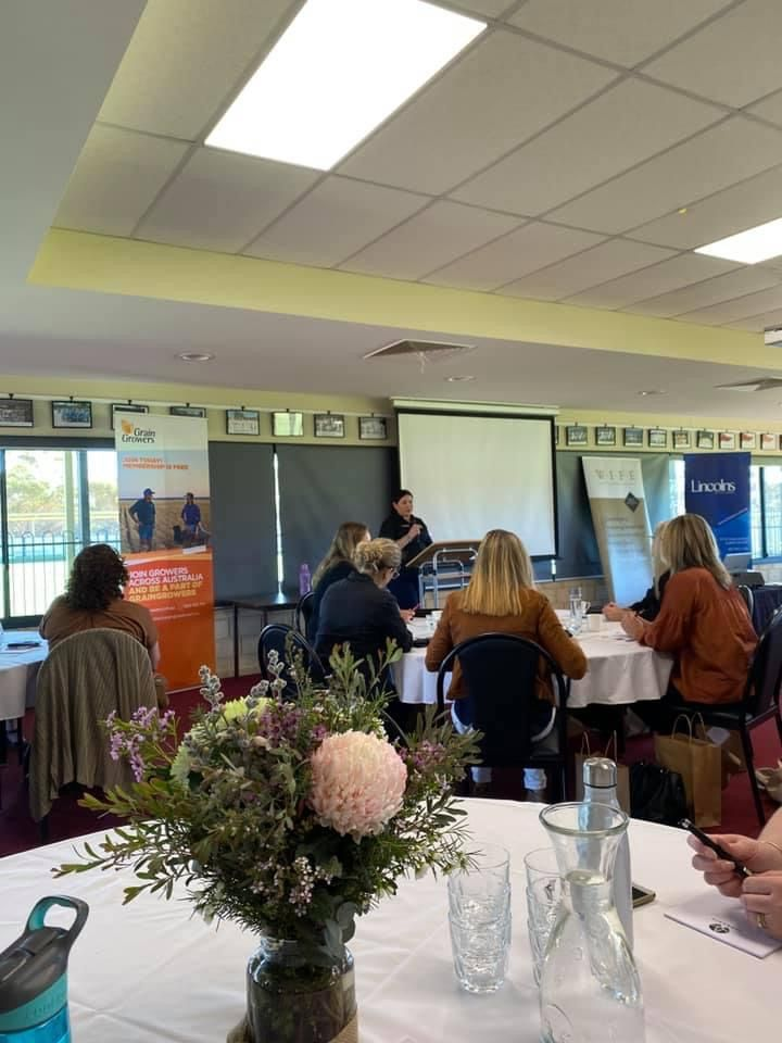 Fantastic networking, learning & knowledge sharing opportunities this week at the Women in Farming Enterprise (WIFE) Regional Rendezvous events at Kulin & Kojonup which attracted more than 100 of their members & guests. More at https://t.co/Iu4UucTNXB https://t.co/JI1MlMgaEA