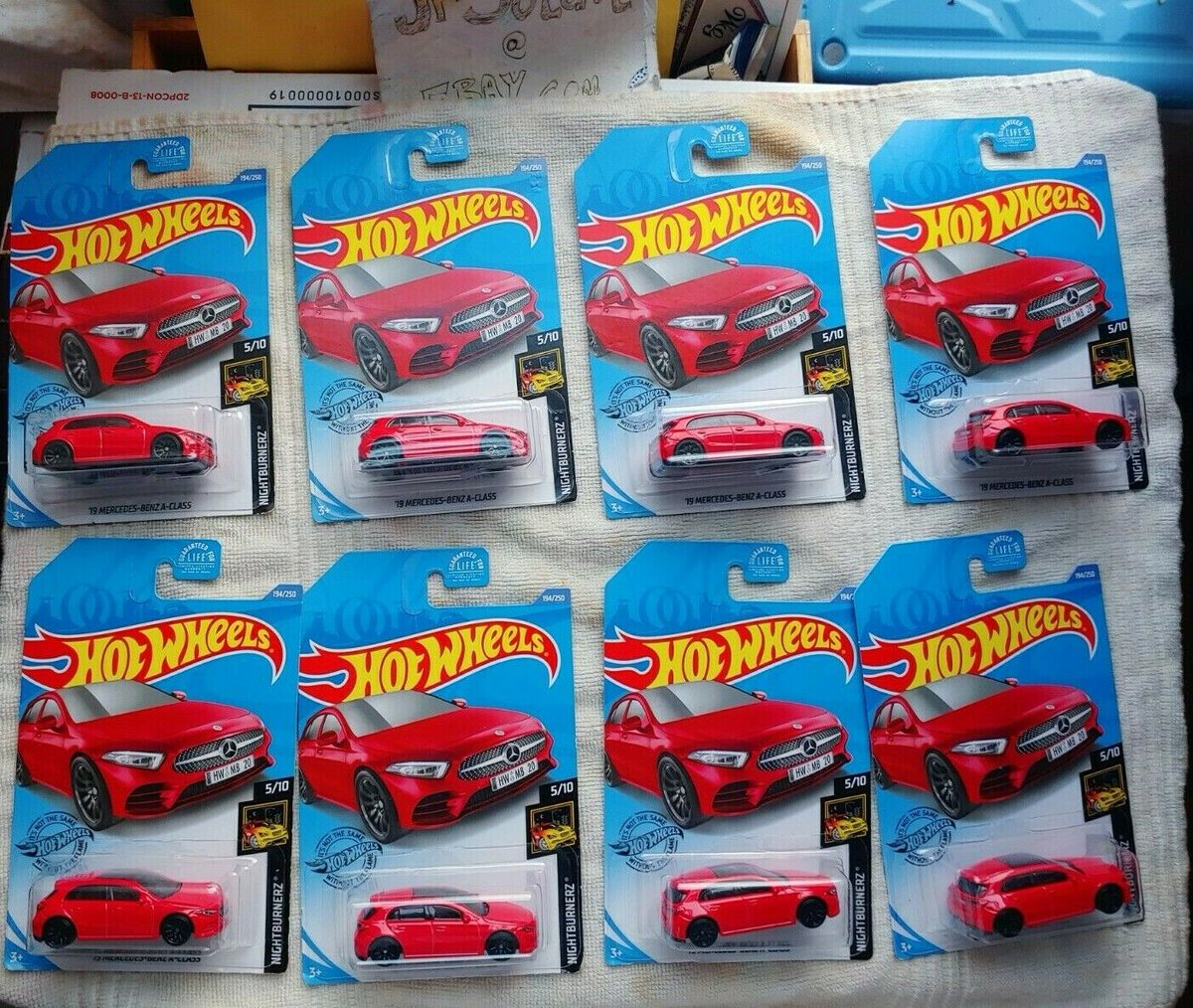 $55 + FREE SHIPPING:  Hot Wheels 2020 : '19 MERCEDES-BENZ A-CLASS 194/250 NIGHTBERNZ 5/10 (LOT OF 10) #HotWheels 2019 MERCEDES-BENZ A-CLASS #red https://t.co/MPi8j0qcB3 https://t.co/t4cPtEwHi5