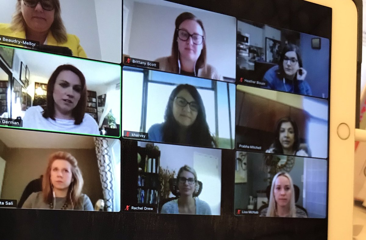 Only 6% of Canadian tech companies are led by women. Let's change that. This is the work of the Founders Table led by @InnovationSask & @WESK306 and facilitated by @Katrinavision Let's go!! 💪 https://t.co/dcAbDl2Hh0