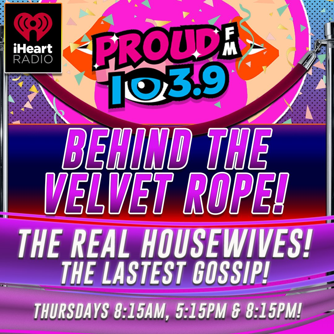 Coming up @ 5:15 pm Jaret gets the latest Real Housewives tea from David Yontef in New York City, host of Behind The Velvet Rope podcast!  Were talking about RHONY's Leah, her new contract and David's run in with Ramona last night at dinner!  Powered by CRAIG'S COOKIES, yum! https://t.co/gHXf6GYWxp