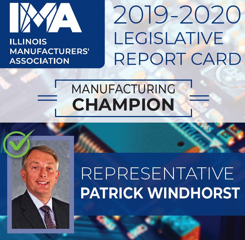 The IMA thanks State Representative @P_Windhorst for being a Champion of #Manufacturing in Illinois!  https://t.co/zs3Y4QHfUf https://t.co/2PoEiby48b