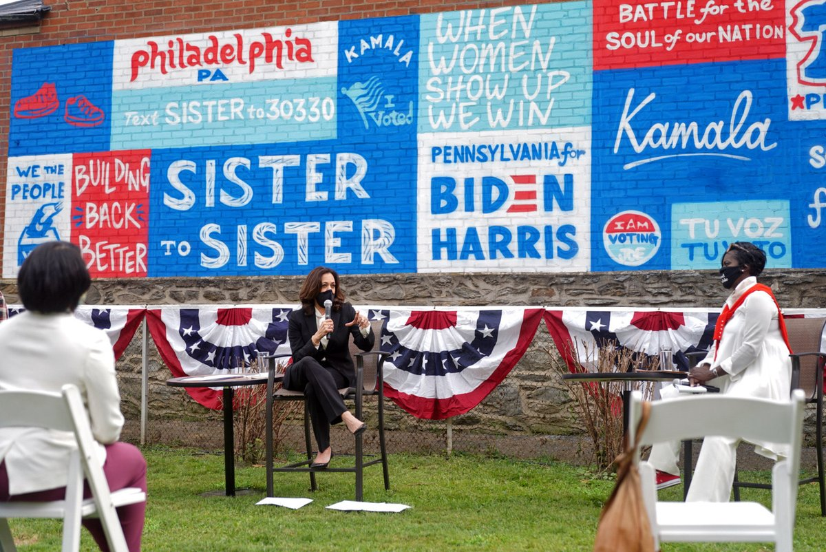 When women vote, we win. Join us by texting SISTER to 30330.