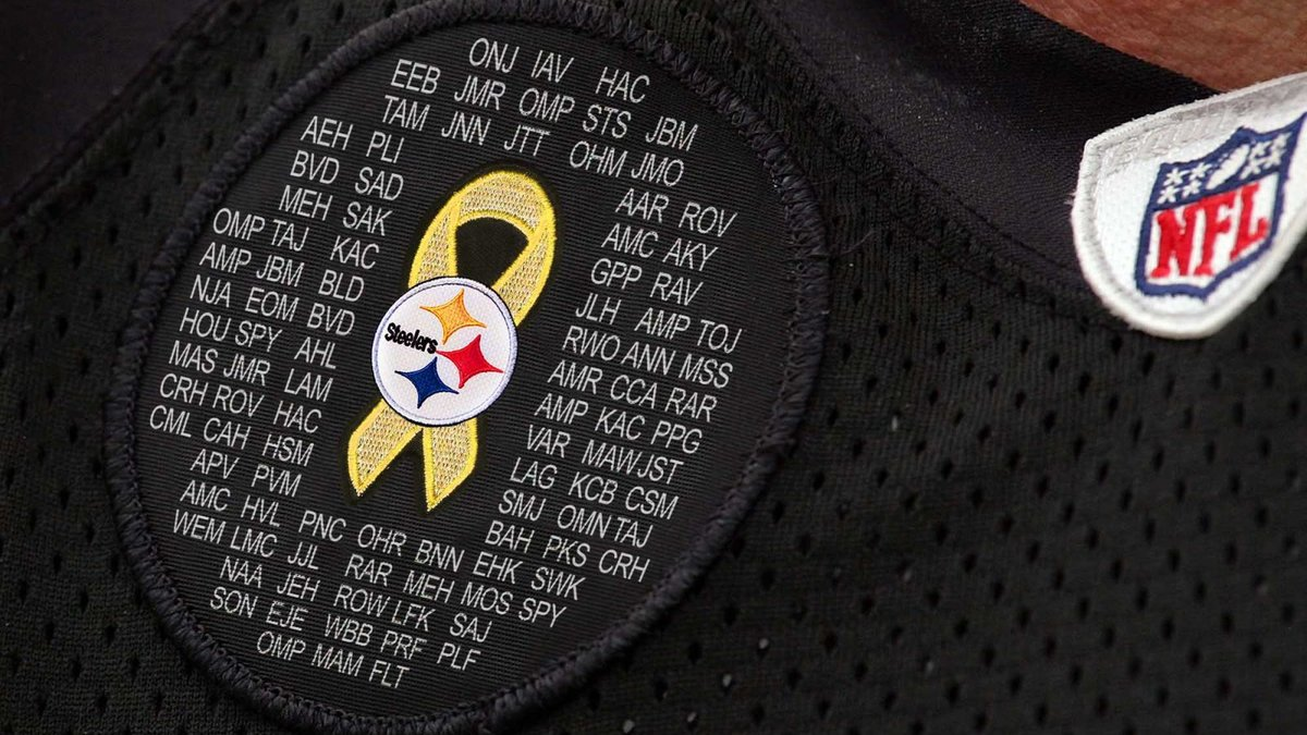 Steelers To Wear Patch Honoring Victims Of Ben Roethlisberger https://t.co/cLskBAsYUJ https://t.co/bwS4Q63s0q