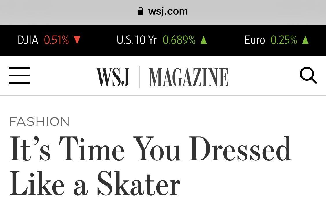 lol ok ~~~WSJ magazine~~~